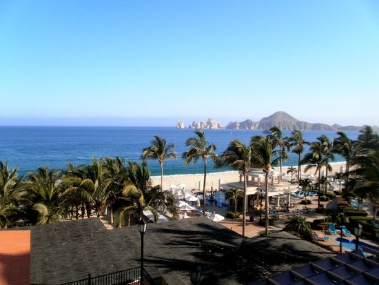 Hotel Riu Palace Cabo San Lucas: View from our room.
