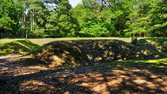 Fort Raleigh National Historic Site: Reconstructed earthen fort