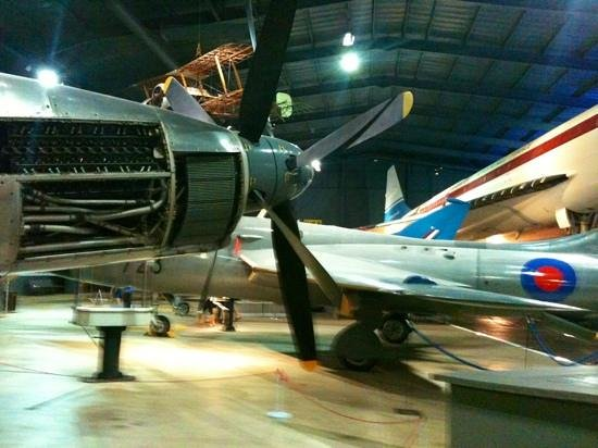 Fleet Air Arm Museum: great view