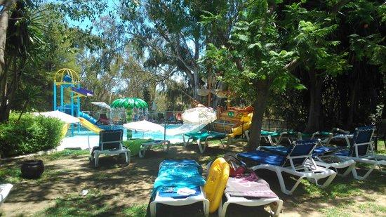 Hotel Roc Costa Park : Piscina infantil desde jardín