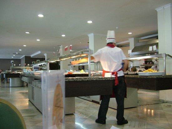 Hotel Roc Costa Park : Buffet