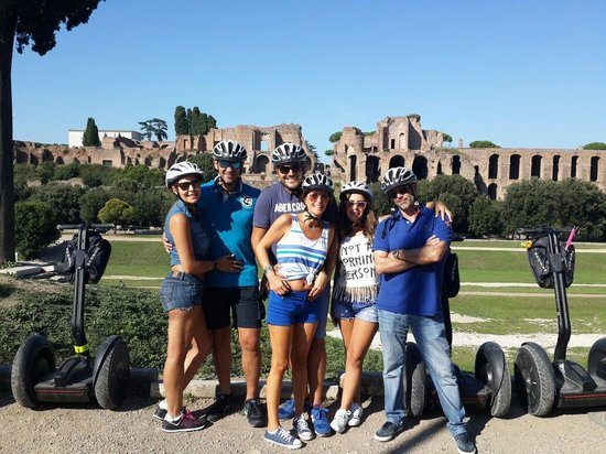 Rex-Tours The Rome Experience: Best segway tour