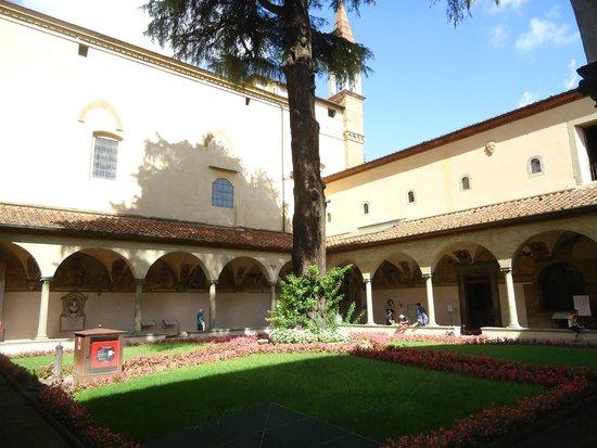 Museo di San Marco: Vista do jardim interno