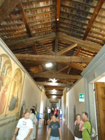 Museo di San Marco: Corredor central do piso 1