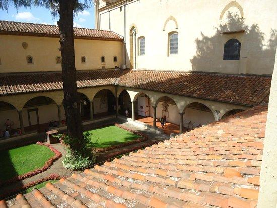 Museo di San Marco: Vista do jardim