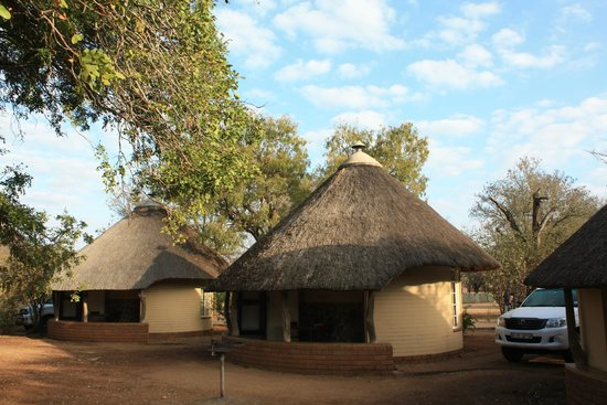Letaba Rest Camp : de huisjes