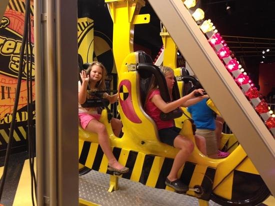 WonderWorks: the two girls on a ride