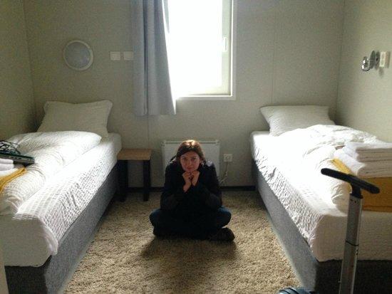 Stracta Hotel Hella: small room is really small