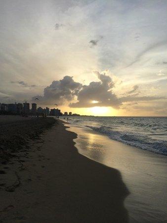 The Dreamcatcher: Nearby beach sunset