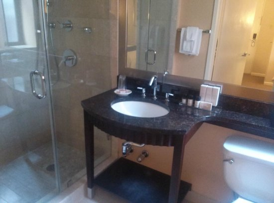 Hotel Metro: Bathroom in my premium queen room