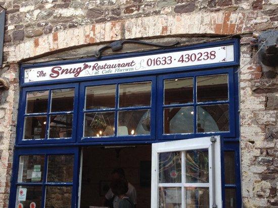 The Snug Restaurant: Lovely venue - quite magical in the ffwrwm