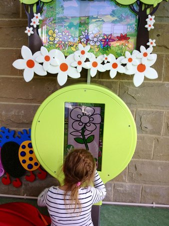 Eureka! The National Children's Museum: Digital flower colouring and planting