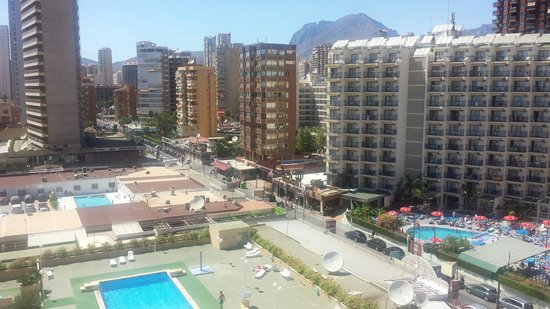 Riudor Hotel Benidorm: View from our room