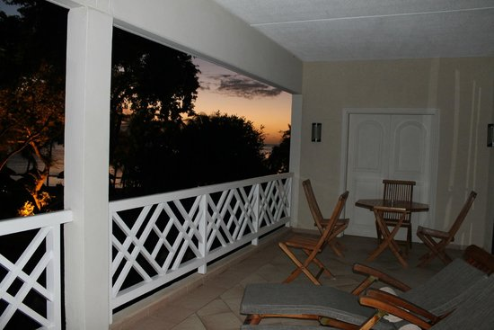 Maritim Resort & Spa Mauritius: Half our balcony
