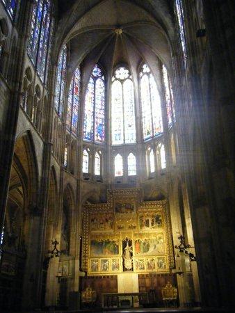 Catedral de León - Santa María de Regla: La luz me ilumina