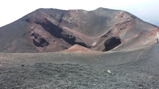 Monte Etna: cratère