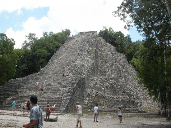 Ruinas de Coba: Piramide di Coba