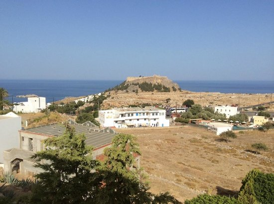 Lindos Gardens Resort Complex: View from the Room
