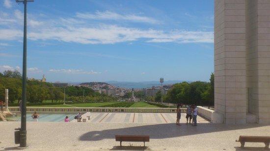 Yellow Bus Tours Lisbon : Parque Eduardo VII