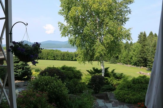 Lodge at Moosehead Lake: The view
