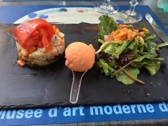 Al Catala : Entrez rafraîchissante avec une glace au piment d'Espelette