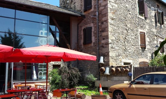 Restaurant Rita Porta : Terraza