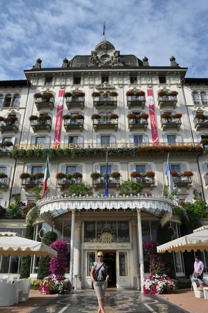 Grand Hotel des Iles Borromees & SPA: front of hotel