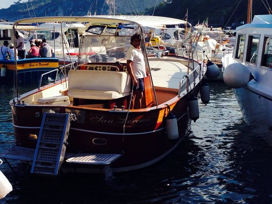 Grand Hotel Capodimonte: Boat for trip to Capri
