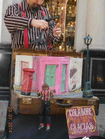 San Telmo: Marionete