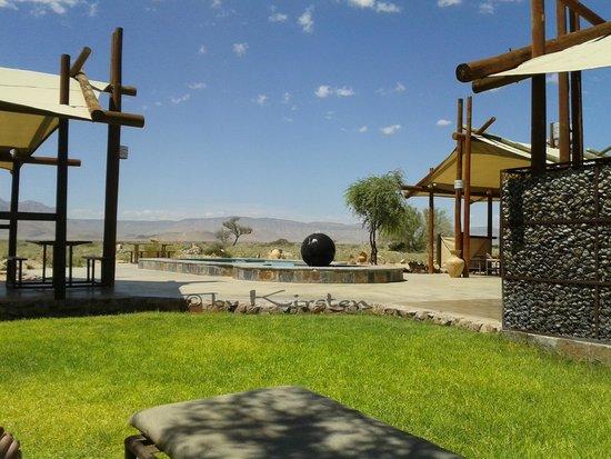 Desert Camp: Poolbereich - Rezeption