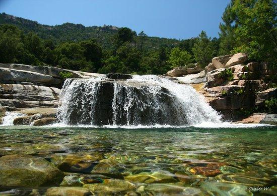 Sainte Lucie de Porto-Vecchio, Francia: rivière du Cavu (cascade pisciarone)