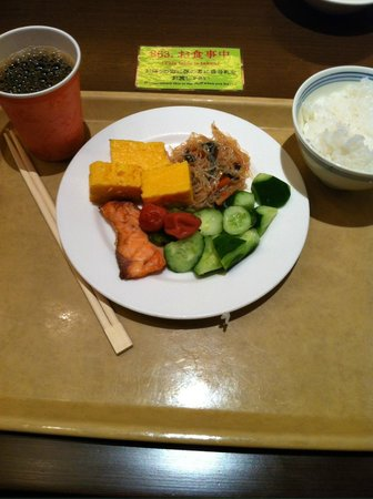 Hotel Sunroute Plaza Shinjuku : Buffet Breakfast!