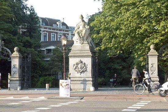 Vondelpark : the main entrance