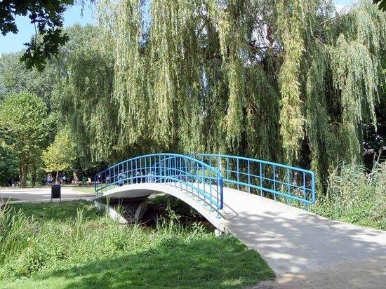 Vondelpark : a bridge