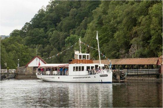 The Pier Tea Room: The Steam Ship, Sir Walter Scott