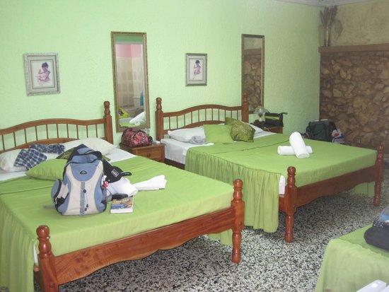 Casa OsmaryAlberto: De groene kamer...
