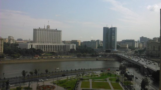 Radisson Royal Hotel Moscow: Дневной вид
