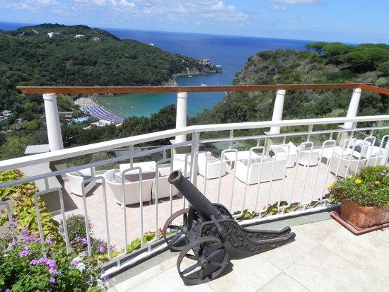 San Montano Resort & SPA: the Upper deck