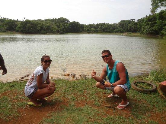 Laguna Big Pond: Fotos com os Jacarés
