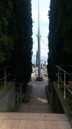 Il Vittoriale degli Italiani : La nave