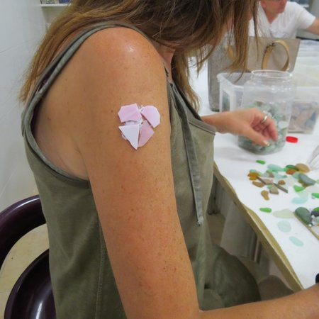 Mosaiccos: Being silly! Mosaic tattoo!