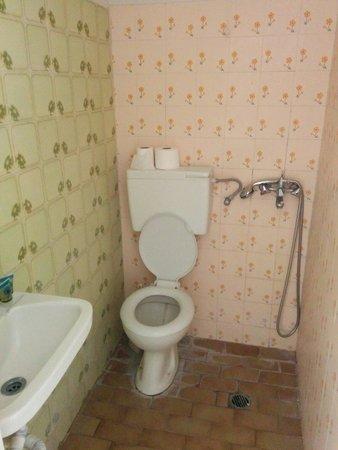 Catherine Hotel : Mi è stata proposta una camera con un bagno simile.