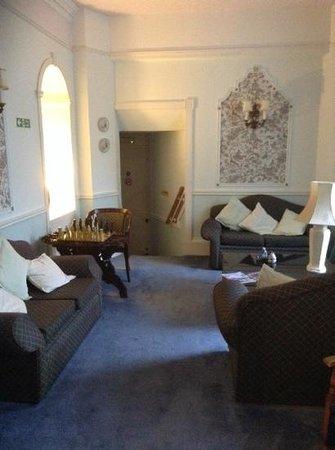 Rosemullion: lounge area