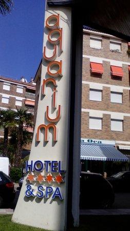 Hotel GHT Aquarium & SPA: Entrée