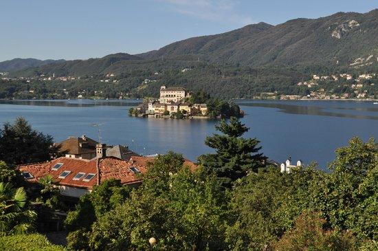 Hotel La Bussola: view from terrace