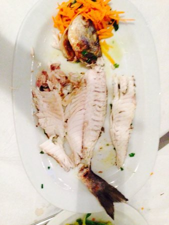 Naoussa Restaurant : Great fish