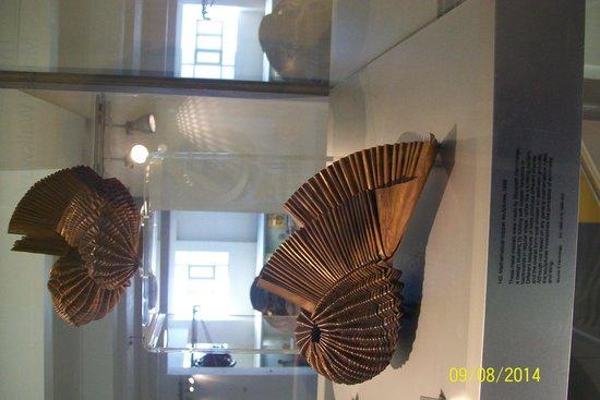 Science Museum: mathematical copper sculptures