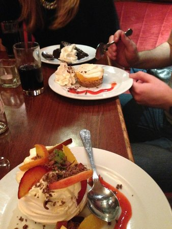 Reddy's of Carlow: Eton Mess and Chocolate Fudge Cake too