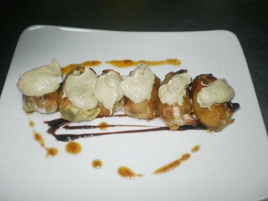 Aragon: Farcallets de pato y ceps con foie