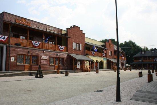 Twinpigs Park: jedna z uliczek